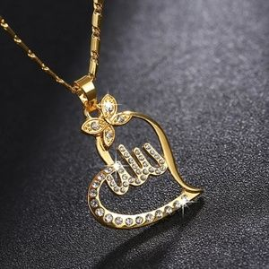 Jewelry - (NWOT) Allah Pendant/Allah Necklace